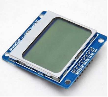 Nokia 5110 84×48 LCD 1